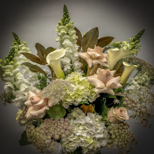 Funeral flowers Susan Avery
